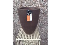 Reduced Price New planter indoor/outdoor with tags long tom