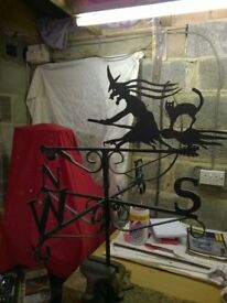 Witch weather vane