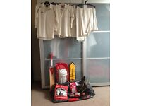 Youths Cricket Equipment and Clothing