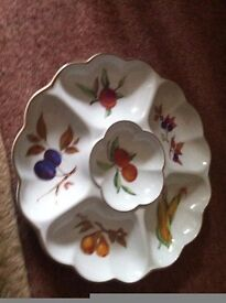 Royal Worcester Dip Dish perfect condition