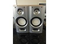 SONY SPEAKERS SIZE 2CM WIDE X 40CM HIGH
