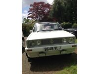 VW Golf GLi Cabriolet Karmann for sale, 1781cc, white, navy hood, fab condition, 30 years ownership.