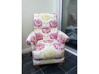 Laura Ashley fabric armchair