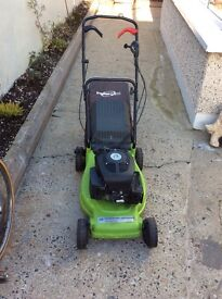 Power Devil petrol rotary lawnmower. Self drive. 18 inch cut. Easy starter. Excellent condition