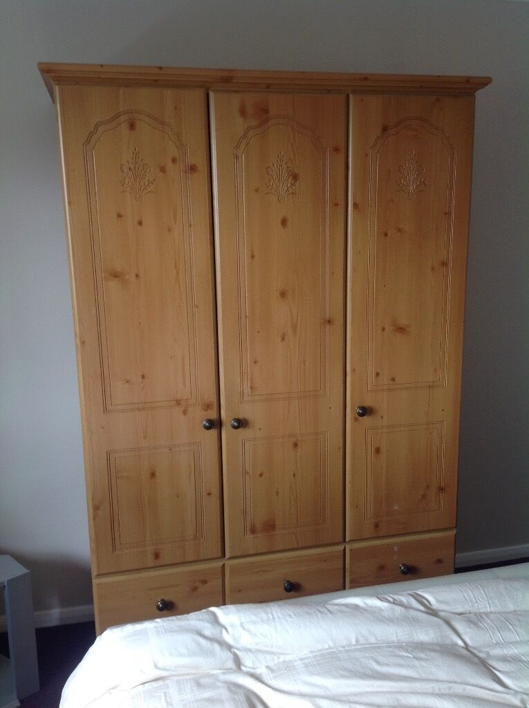 Bargain Second Hand Wardrobe For Sale In Church