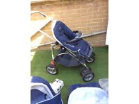 Baby comfort travel system