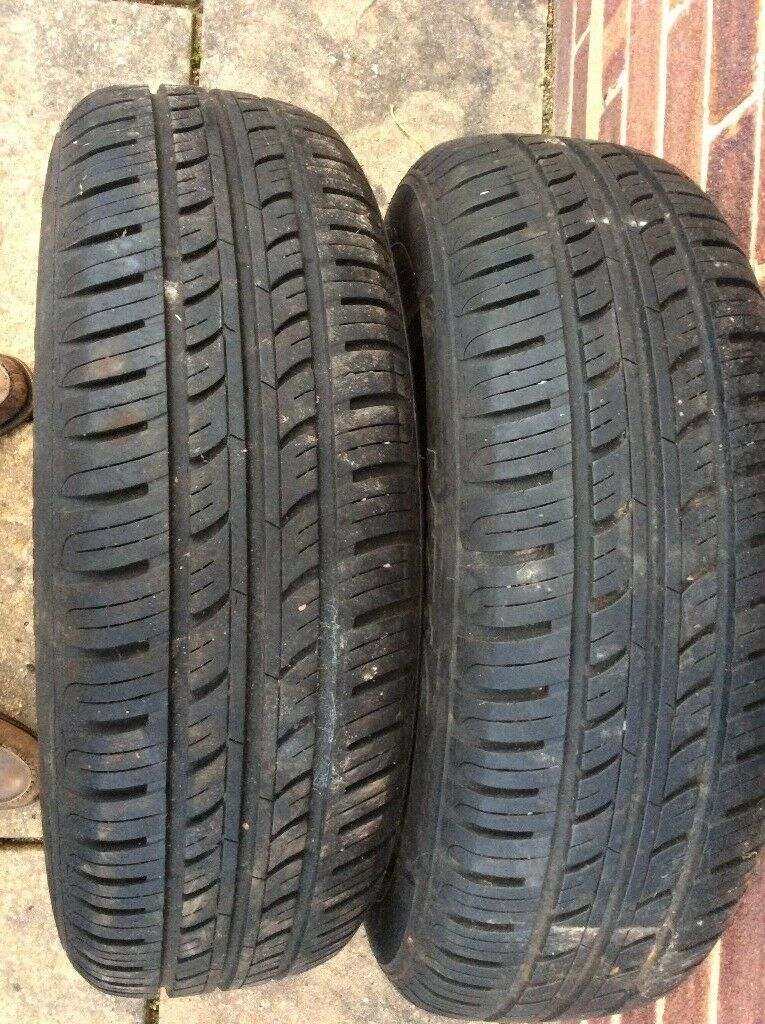 Car Tyres 185/65/R15 qty 2 - Free