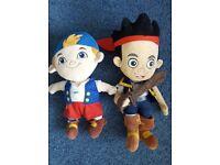 Disney Jake & the Neverland Pirates, Jake & Cubby Soft Toys