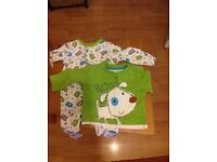 Lovely Baby Grow and T-Shirt Set 0-3 Months