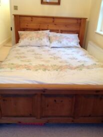 Pine Bed- solid bespoke king size