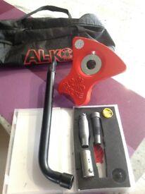Caravan Alko secure wheel lock 38
