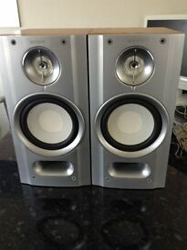 Sony Speakers size 2cm Wide x 40cm High x 220cm Deep. Model sswz83