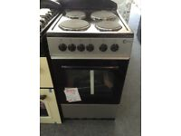 Flavel single cavity electric cooker. Silver. 50cm. £185. New/graded 12 month Gtee