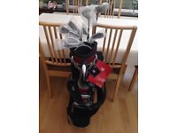 Brand new set of Wilson Pro Staff golf clubs and bag.