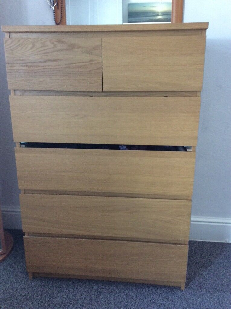 reputable site c2971 c05c6 Ikea Malm 6 drawer chest of drawers- £20   in Trafford, Manchester   Gumtree
