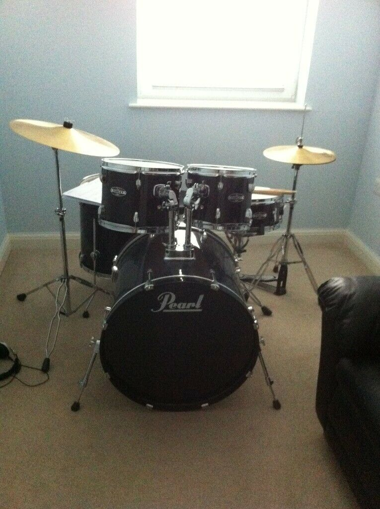 PEARL Drum Set perfect for Teenager/drummer fraction of cost at new £225 |  in Bangor, County Down | Gumtree