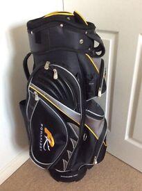 Powakaddy Golf Bag. As New.