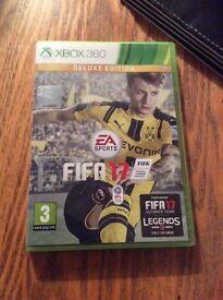 Fifa 17 deluxe addition Xbox 360