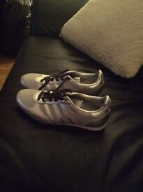 Brand New Ladies Adidas Silver Trainers