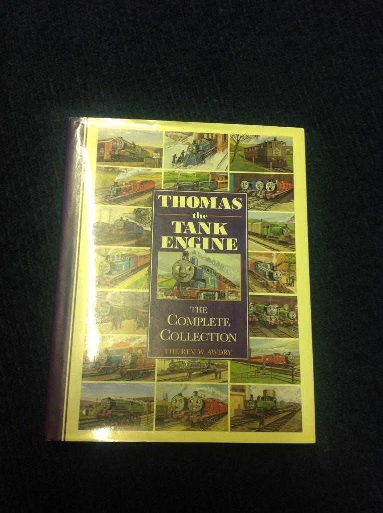 Thomas The Tank Engine hard back book
