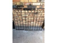 Decorative metal panels for patio or decking etc