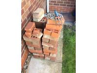 Bricks for sale. Left over from building work