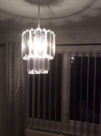 CRYSTAL EFFECT LIGHT SHADE