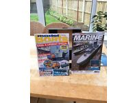 Model boats & Marine mags 117 altogether. Very interesting for building from scratch