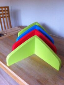 Ikea 4 Colourful Kids Shelves