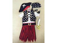 Child's Pirate Costume