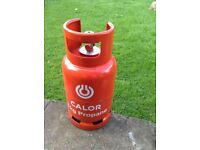 Calor gas bottle 6kg propane full and unused