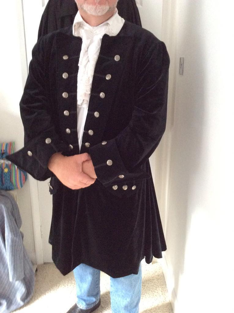 Gothic style frock coat