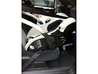 lay flat rear facing infant baby carrier group 0+ to 13kg car seat casualplay sono long journeys