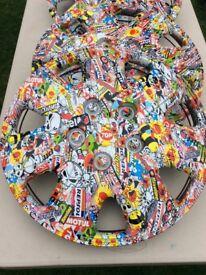 16ins Sticky bomb wheel trims