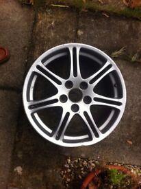 honda type r wheel 17 inch spare no tyre