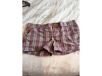 Women's superdry shorts. Size small