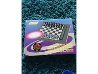 Systematic electronic chess set