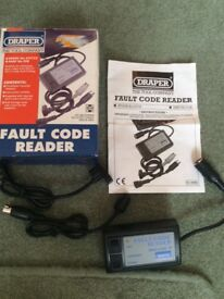 Fault code reader suitable for fords and Vauxhall possibly more