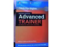 Advanced Trainer - Cambridge Book