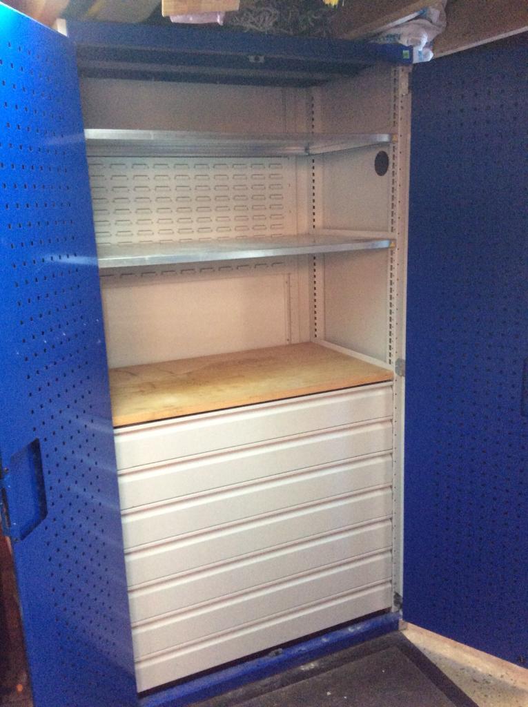 Lockable Garage Storage Cabinet