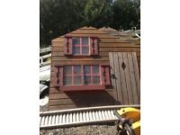 Wendy house two stories high
