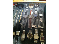 Job lot of 38 Watches