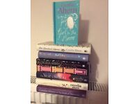 Eight novels by Cecilia Ahern