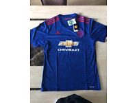 MANCHESTER UNITED 16/17 HOME/AWAY FOOTBALL TOPS SHIRT, KIDS KITS ALSO BRAND NEW WITH TAGS, ALL SIZES