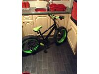 Pedal bike big wheel