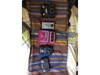Guitar pedals.. source audio, maxon, neunaber, Mxr