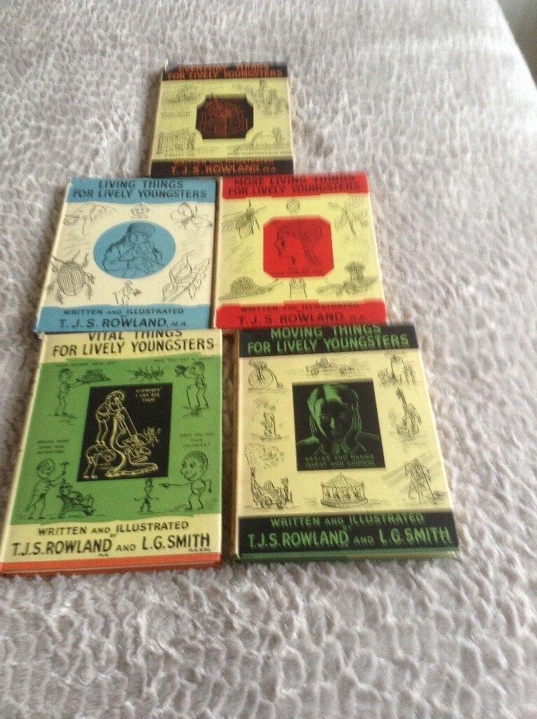 TJS Rowland books