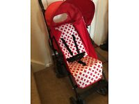 Red Spot Caspian Stroller ... RRP £95 Used Once