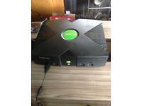 Original Xbox Console with EVOX mod chip
