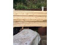Site clearance timber different sizes and lengths